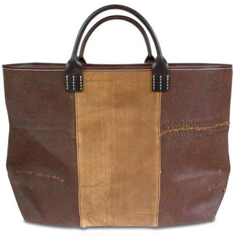 酒袋鞄 SHIB   L-L37  浅葱色大風呂敷「家紋 」/ ANTIQUE FUROSHIKI「FAMILY CREST」