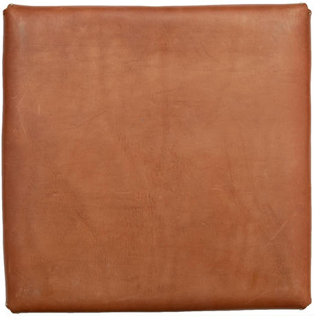 Industrial Leather TRAY Square Brown     革盆角茶 /
