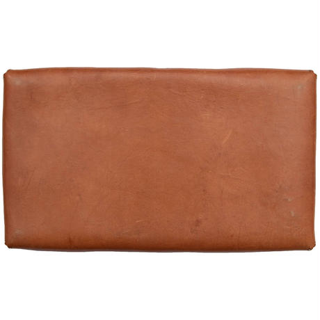 Industrial Leather  TRAY Rectangle Brown  革盆長角茶