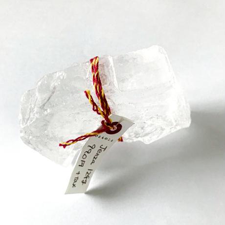 Jenza/透明な岩塩ジェンツァ Tibetan  Bath  Salt124g(入浴約2〜3回分)