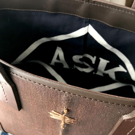 NEW    酒袋鞄 SHIB   S-51    半纏「ASK 」/ HANTEN - Lively coat