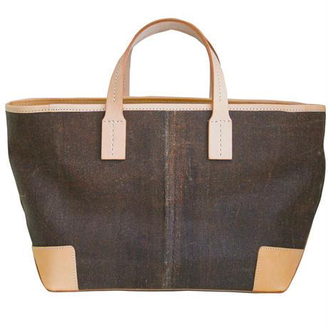 酒袋鞄SHIB   S_60 /鳥画帯  Bird Pattern Kimono Obi