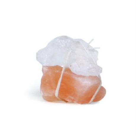 Tibetan  Bath  Salt/岩塩 バスソルト ピンク+白の岩塩セット 100g