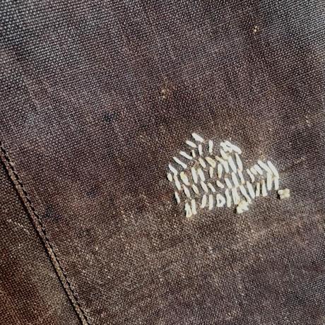 酒袋 鞄 SHIB  L-44 家紋「引両紋」/ FAMILY CREST「HIKIRYO-MON」