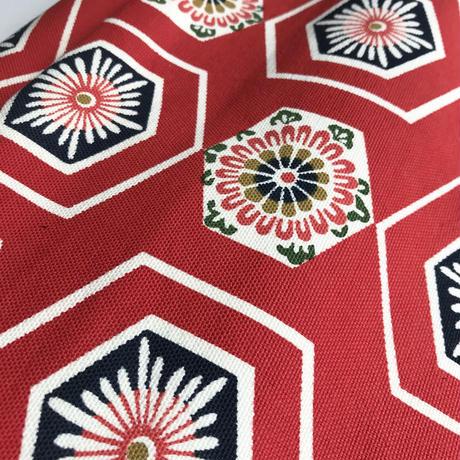 酒袋鞄SHIB_S-63 / ハニカム花帯  Honeycomb flower Kimono Obi