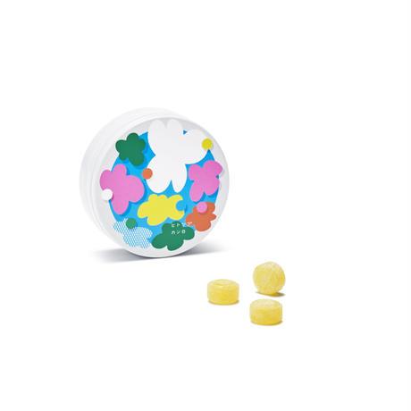 キャンディエール缶 フラワー【06624】