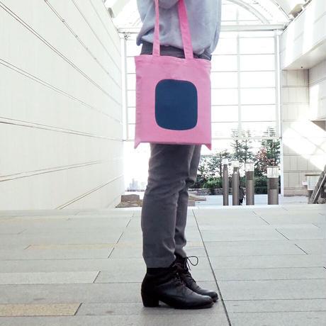 ヒトツブカンロのスクエアトート ピンク【06686】