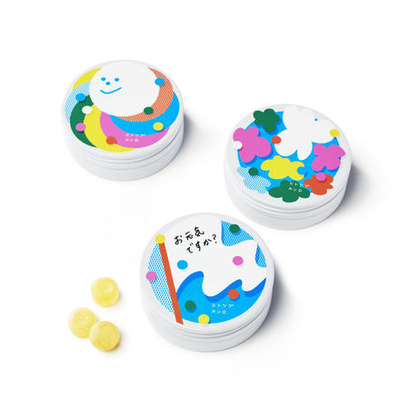 キャンディエール缶 フラッグ【06623】