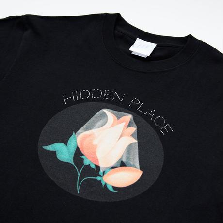 花びらTシャツ[ブラック]