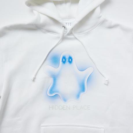 ghostフーディー[ホワイト]