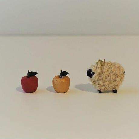 Apple  直径13mm / 赤・金