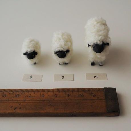 hitsuji object  /  S size   Mokume white