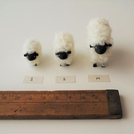 hitsuji object  /  M size   White