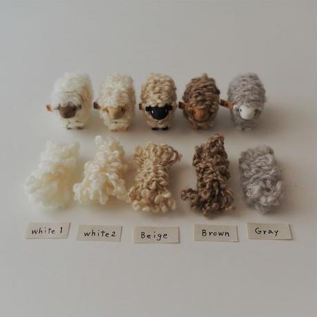 hitsuji object  /  S size   Natural