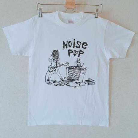 noisepop オリジナルイラストTシャツ☆ギターガール