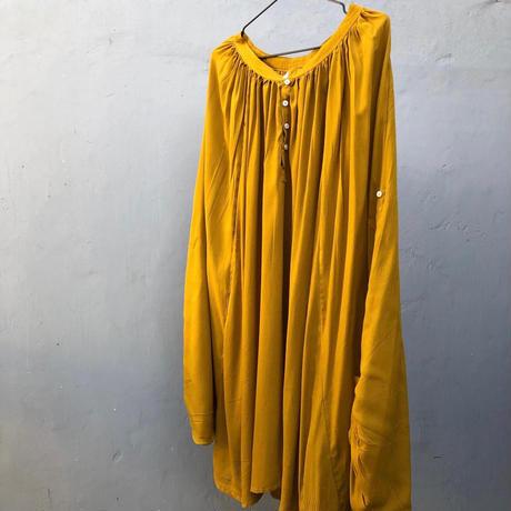 チュニック ブラウス/ mustard yellow