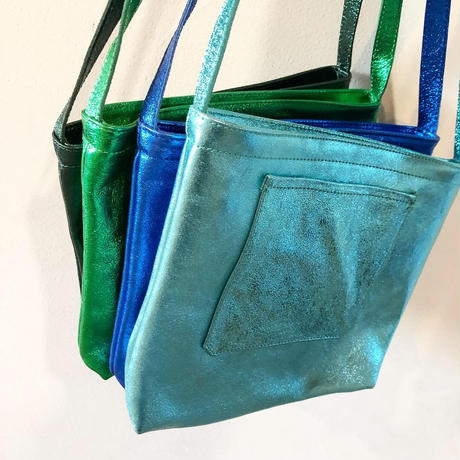 イタリアンレザー サコッシュ Doraemon color Itarian leather pochette