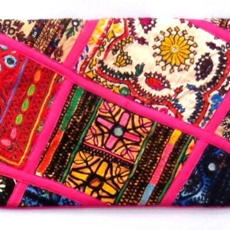 Indian Clutch Bag パッチワーク クラッチバッグ