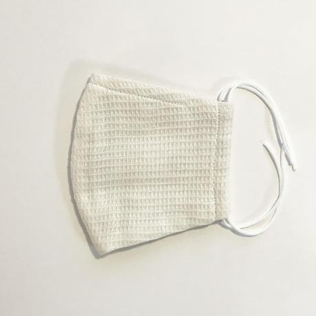 ポケット仕様のオーガニックコットンマスク