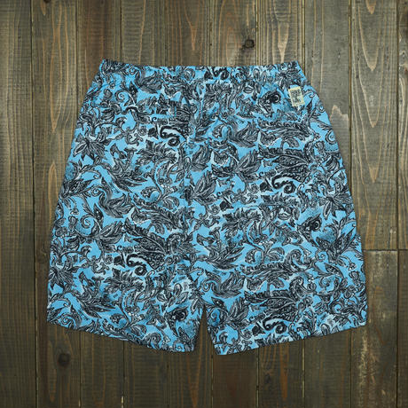 gold school x SSZ salada shorts
