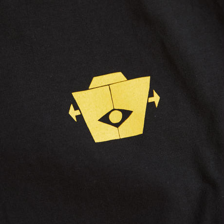 gold school robo t shirt