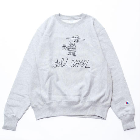 gold school champion sweat