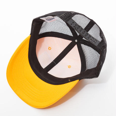 gold school mesh cap