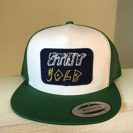 Stay gold mesh cap