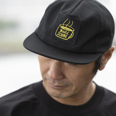 gold school mag patch cap