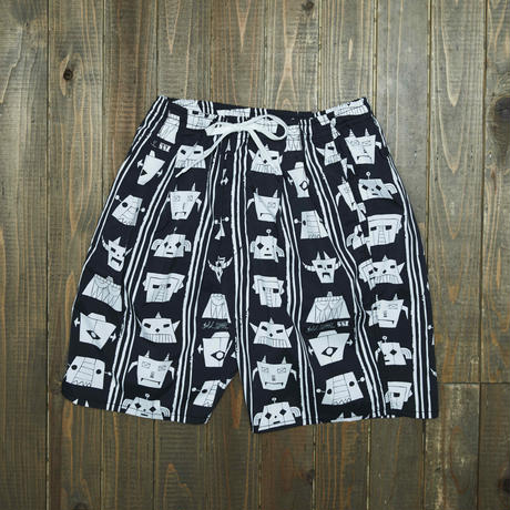 gold school xSSZ Robo shorts