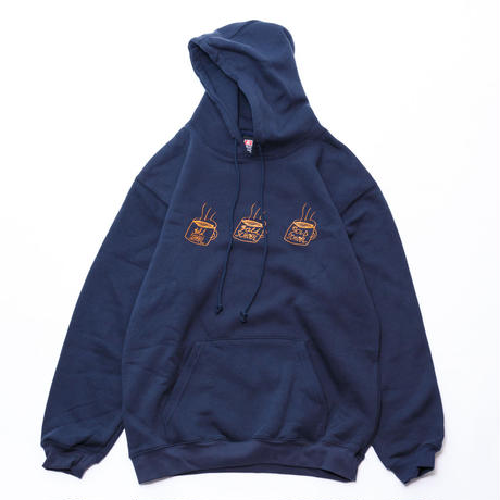 gold school coffee cup sweat hoodie