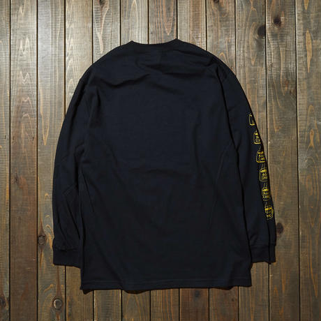 gold school 6 cup long sleeve T shirt