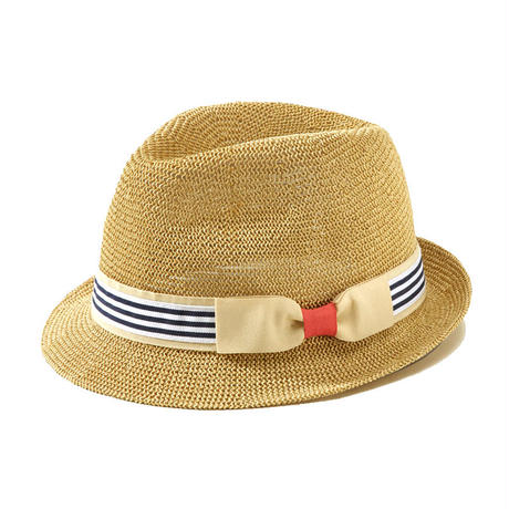 Border thermo paper hat ボーダー巻きサーモ中折れ