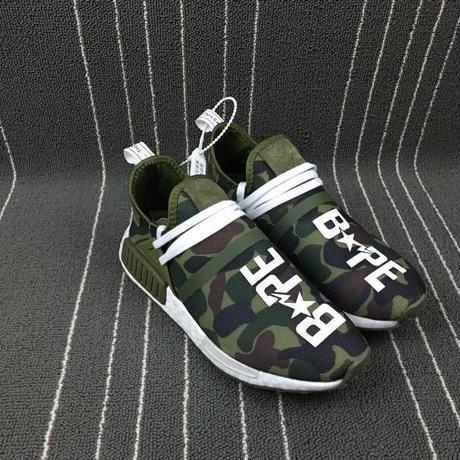 ADIDAS アディダス BAPE x adidas NMD スニーカー 運動靴 メンズ レディースシューズ Adidas 040005迷彩   Camo