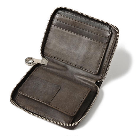 ラウンドファスナー折り財布 HMAENオリジナルショッパープレゼント