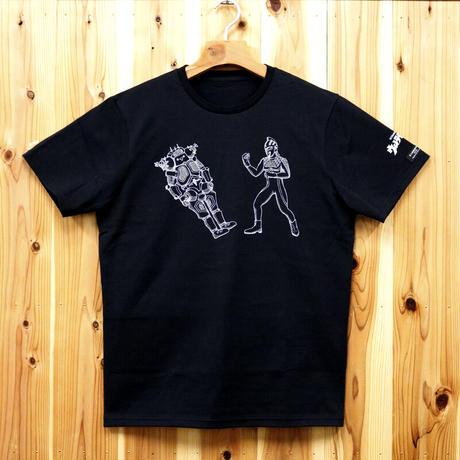 HOFI-008-LPT ウルトラセブン vs キングジョー(メンズ) ブラック
