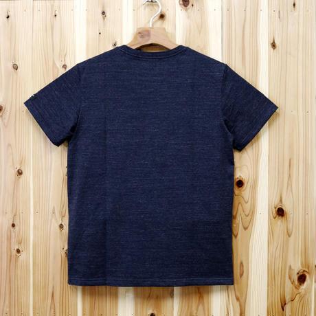 HOFI-007 ペンアートTシャツ(メンズ)ネイビー