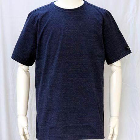 HOFI-004 ペルー超長綿 丸首天竺Tシャツ(メンズ)ネイビー