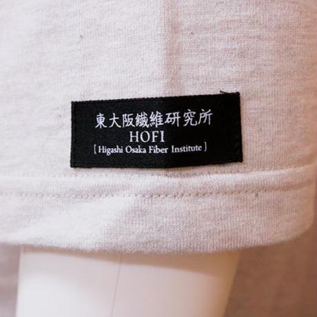 HOFI-007 ペンアートTシャツ(メンズ)ベージュ