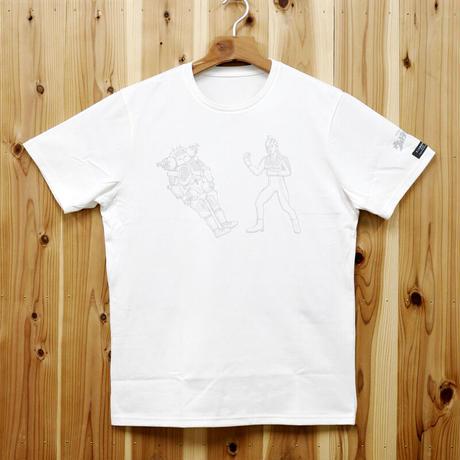 HOFI-008-LPT ウルトラセブン vs キングジョー (メンズ) ホワイト