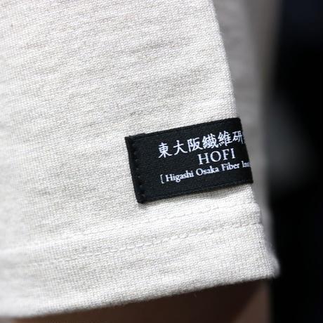 HOFI-013 ペルー超長綿 モンスターオンスTシャツ ベージュ