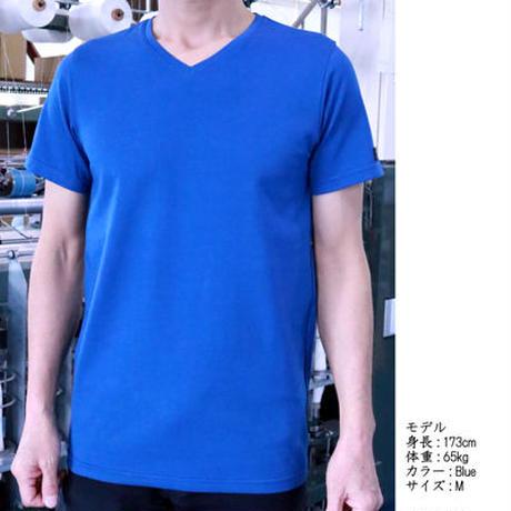 HOFI-006 インド綿強撚VネックTシャツ
