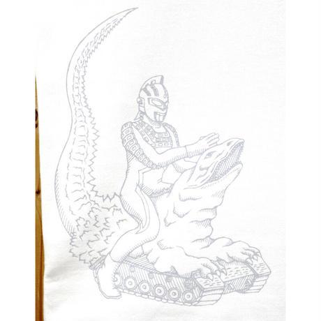 HOFI-008-LPT ウルトラセブン vs 恐竜戦車 (メンズ) ホワイト