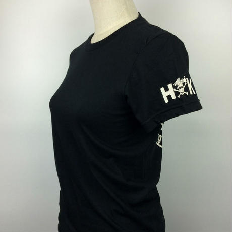 "LADIES ""FAR FAST BIKER GIRL"" W/SLEEVE LOGO"