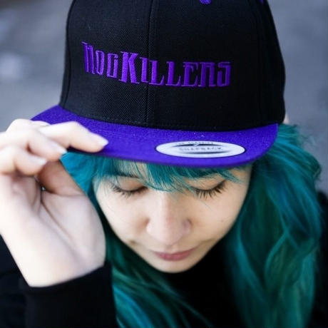 Snapback cap Purple