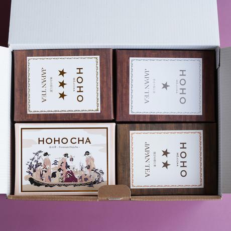 【秋】焙じ茶4種 飲み比べ セット【HOHO HOJICHA】