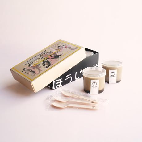 和みの玉露焙じ茶パンナコッタ -プレーン- セット【HOHO HOJICHA】