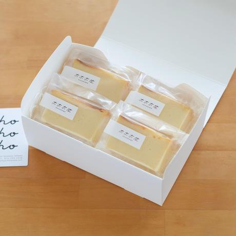 ホホホ座金沢のチーズケーキ4切ギフトセット