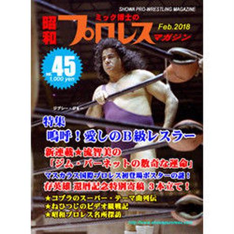 昭和プロレス・マガジン第45号