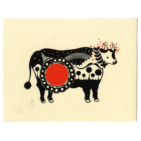 Year of the Holy Mama Cow 2021/辛丑(かのとうし)年-YuriShimojo 下條ユリ